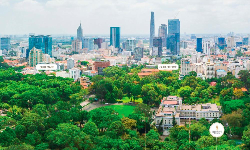 View trung tâm thành phố